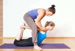 Hatha Yoga instructor