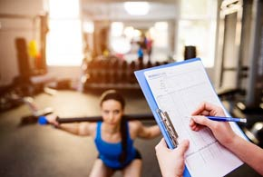 Personal training and private fitness instruction