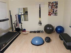 Private fitness studio, Vancouver BC